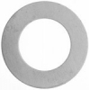 Metal Blank 24ga German Silver Washer-round 31mm with 19mm Hole